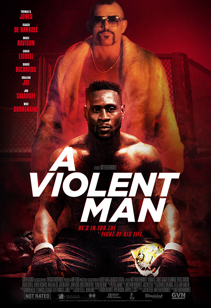 Official A Violent Man movie poster image